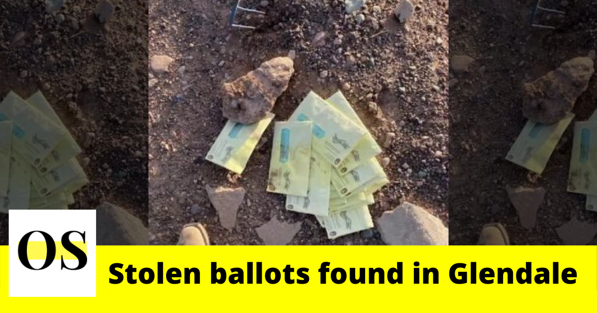 Stolen ballots found by farm worke