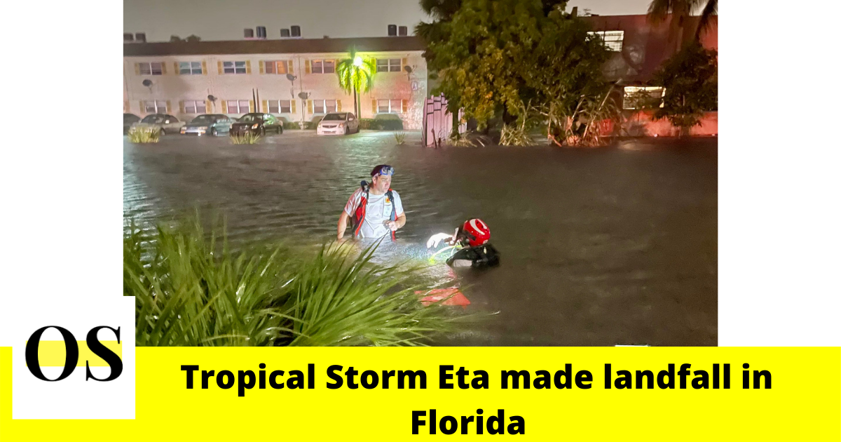 Florida braces for flooding and possible tornadoes after Tropical Storm Eta 6