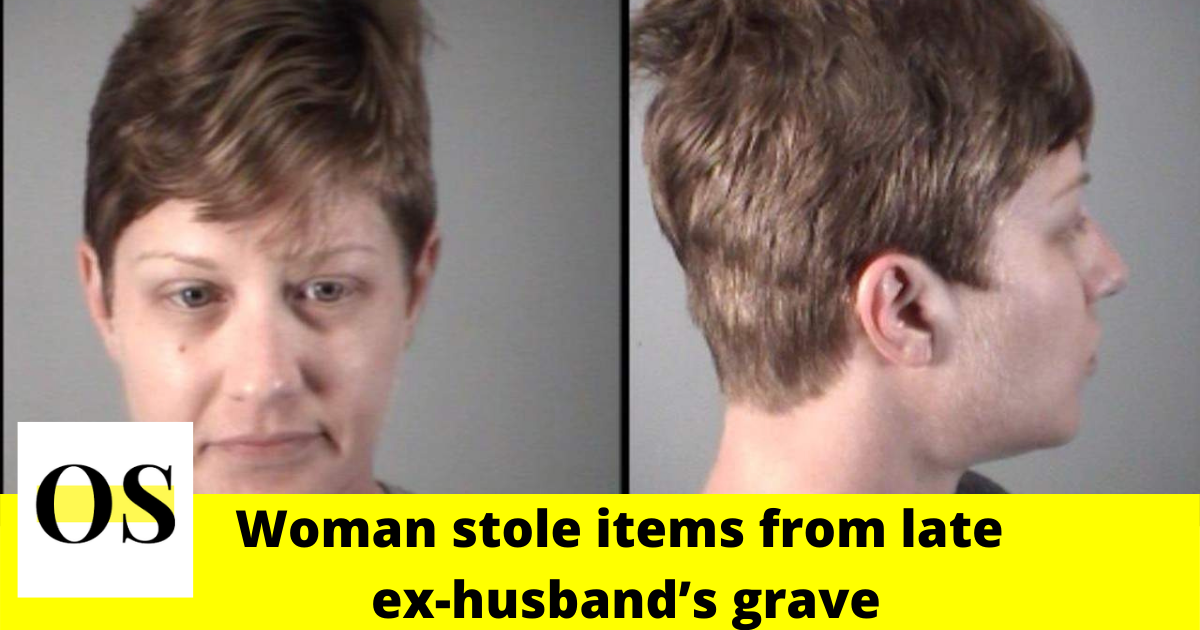 Woman arrested for stealing items from late ex-husband's grave in Leesburg 2