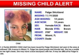 13-year-old teen missing; last seen in Miami 2