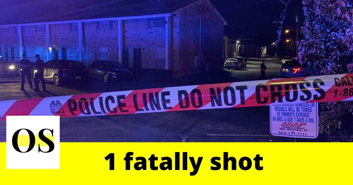 1 injured in a fatal shooting in Jacksonville 1