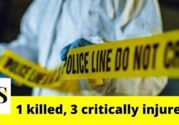 1 killed, 3 critically injured in a crash on I-95 7