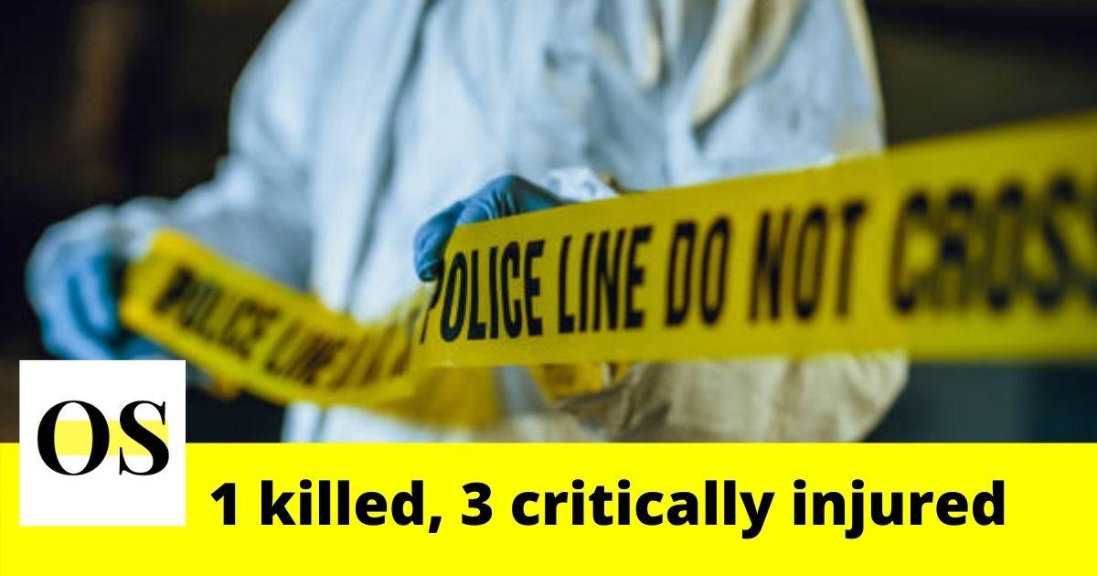 1 killed, 3 critically injured in a crash on I-95 3