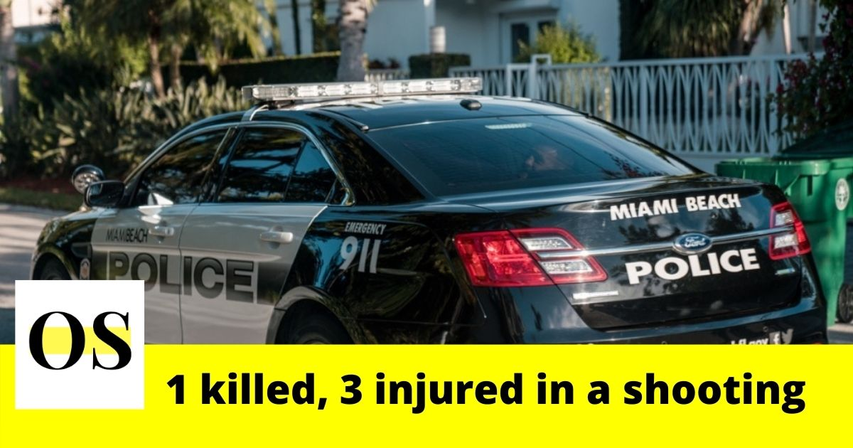 1 dead, 3 injured in a fatal shooting in Miami 1