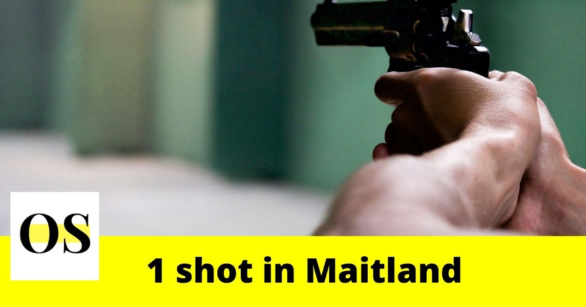 1 shot at Maitland apartment complex