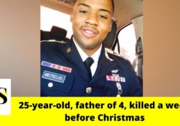 25-year-old U.S. Army veteran, father of 4, killed in a crash a week before Christmas in Sarasota 4