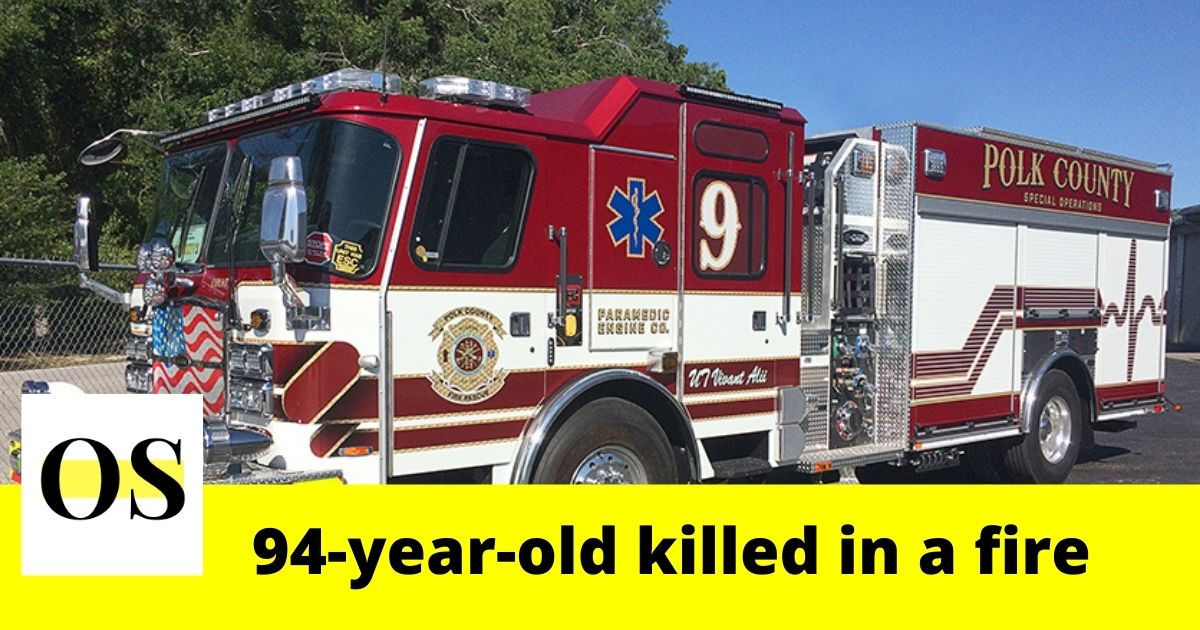 94-year-old woman killed in a fire in Davenport