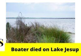 Man died after boat overturned in Sanford 5