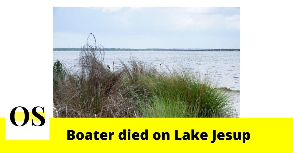 Man died after boat overturned in Sanford 2
