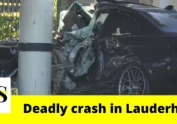 1 killed in a crash on State Road 7 in Lauderhill 1