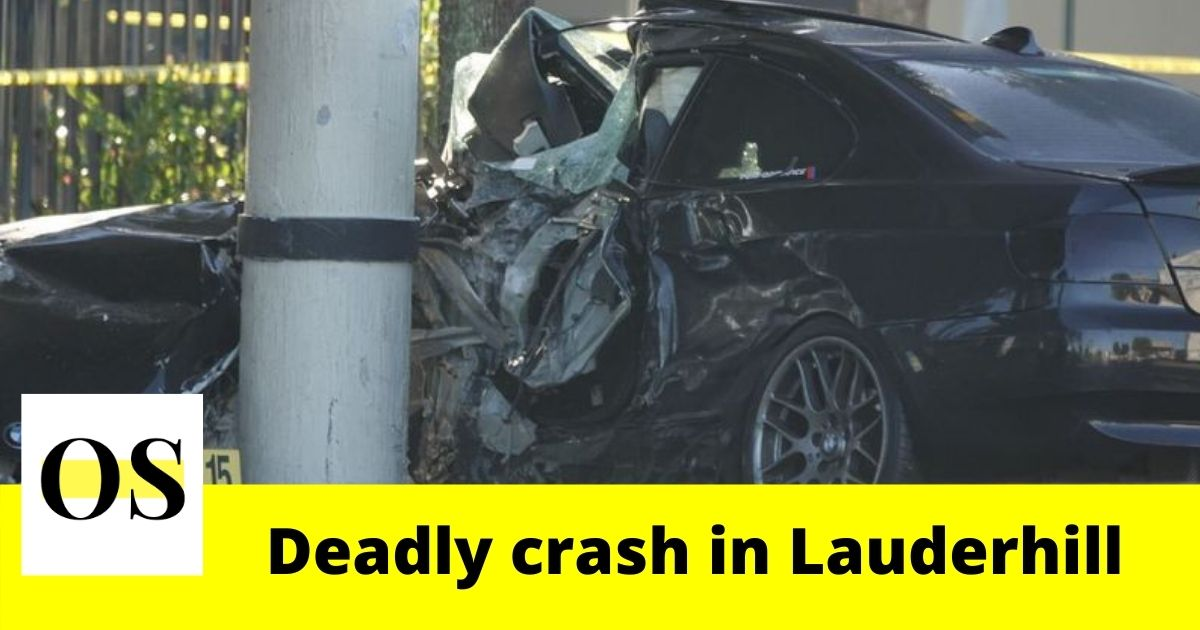 1 killed in a crash on State Road 7 in Lauderhill 2