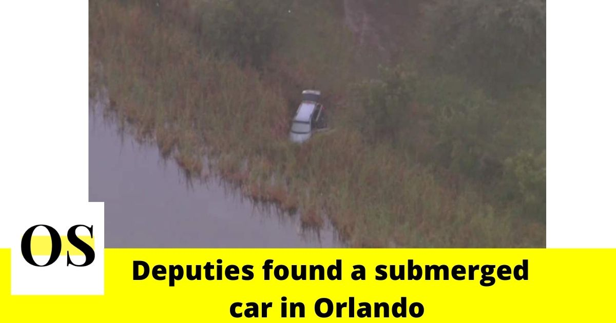 Deputies found a submerged car in Orlando 2