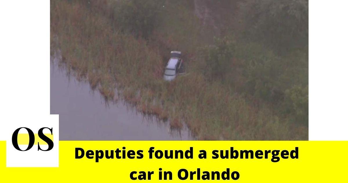 Deputies found a submerged car in Orlando