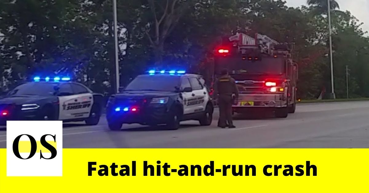 Woman killed in a fatal hit-and-run crash