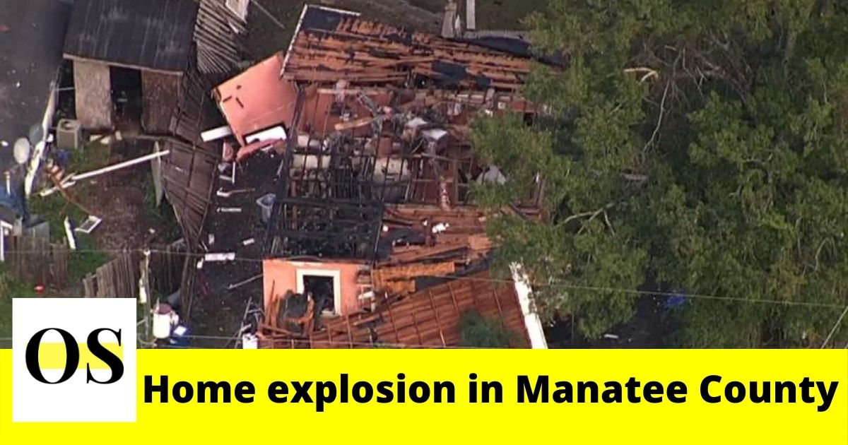 Father and son injured in home explosion in Manatee County 4