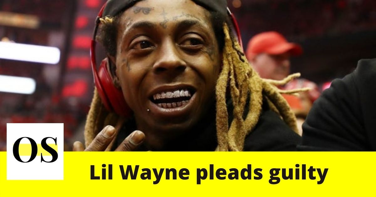 38-year-old rapper Lil Wayne pleads guilty to Federal Gun Charge in Miami 1