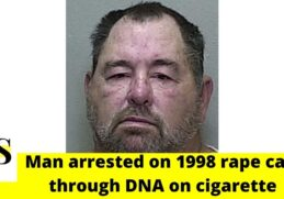 "60-year-old man arrested for ""1998 Tampa rape case"" through DNA on cigarette 6"