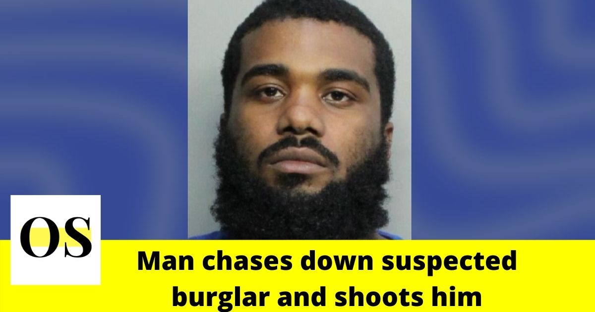 28-year-old man chases down suspected burglar, shoots him in Miami 1