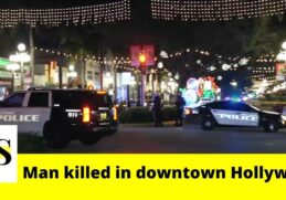 1 killed in a shooting in downtown Hollywood 3