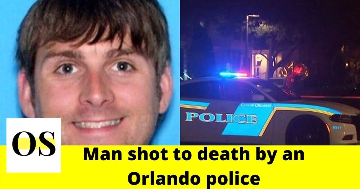 34-year-old man shot to death by officer who responded to domestic violence in Orlando  1