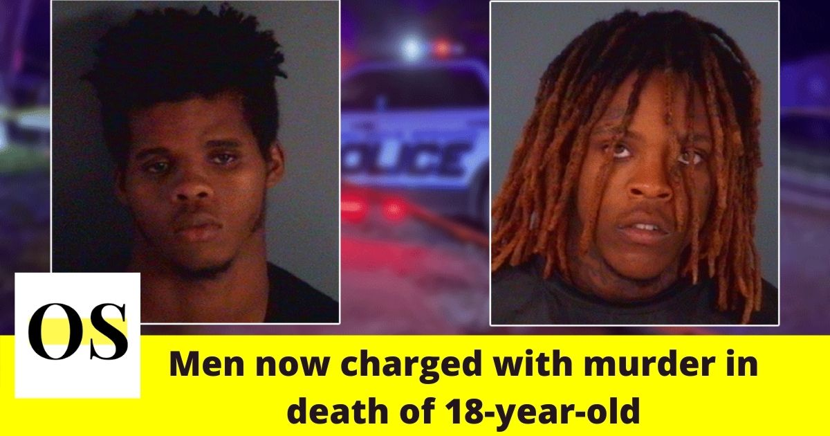 2 men arrested for armed robbery now charged with murder in Green Cove Springs shooting 1