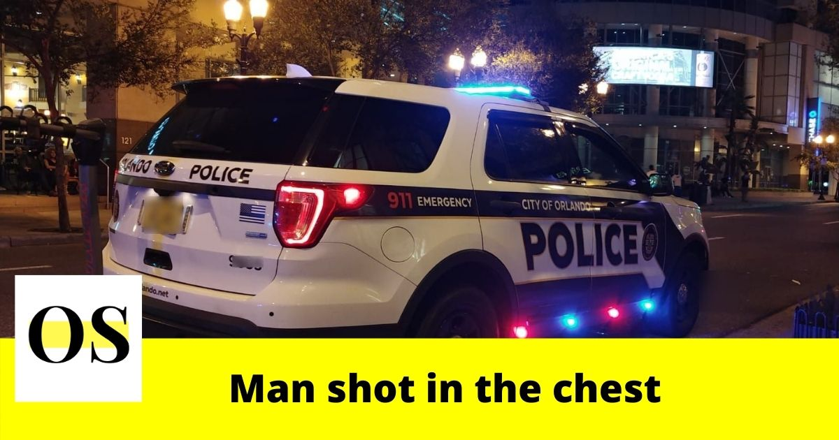 chest outside a Waffle House in Orlando