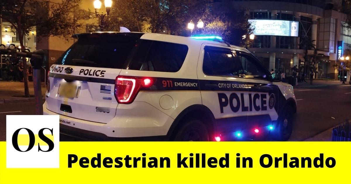 1 pedestrian killed in a hit-and-run in Orlando 1