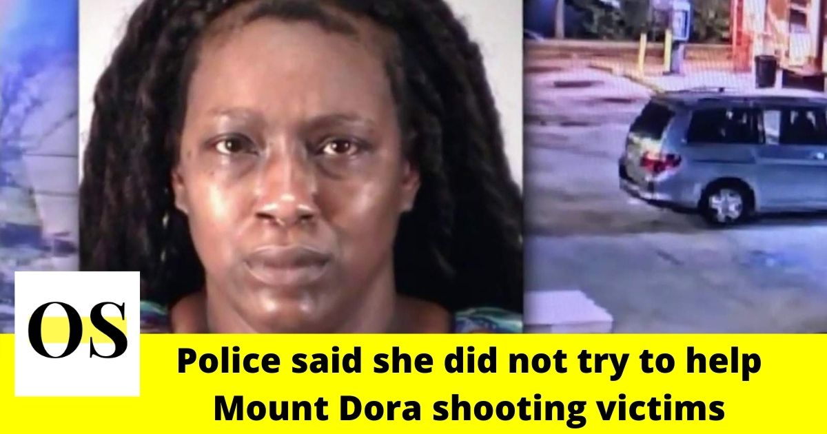 Woman found Mount Dora shooting victims and left without calling 911 1