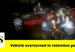 4 family members rescued after car overturned into water in Orlando 10
