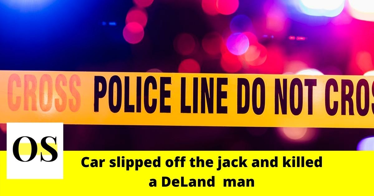 41-year-old man pinned underneath a car and killed in DeLand 1