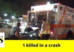 1 killed in a crash in Osceola County 1