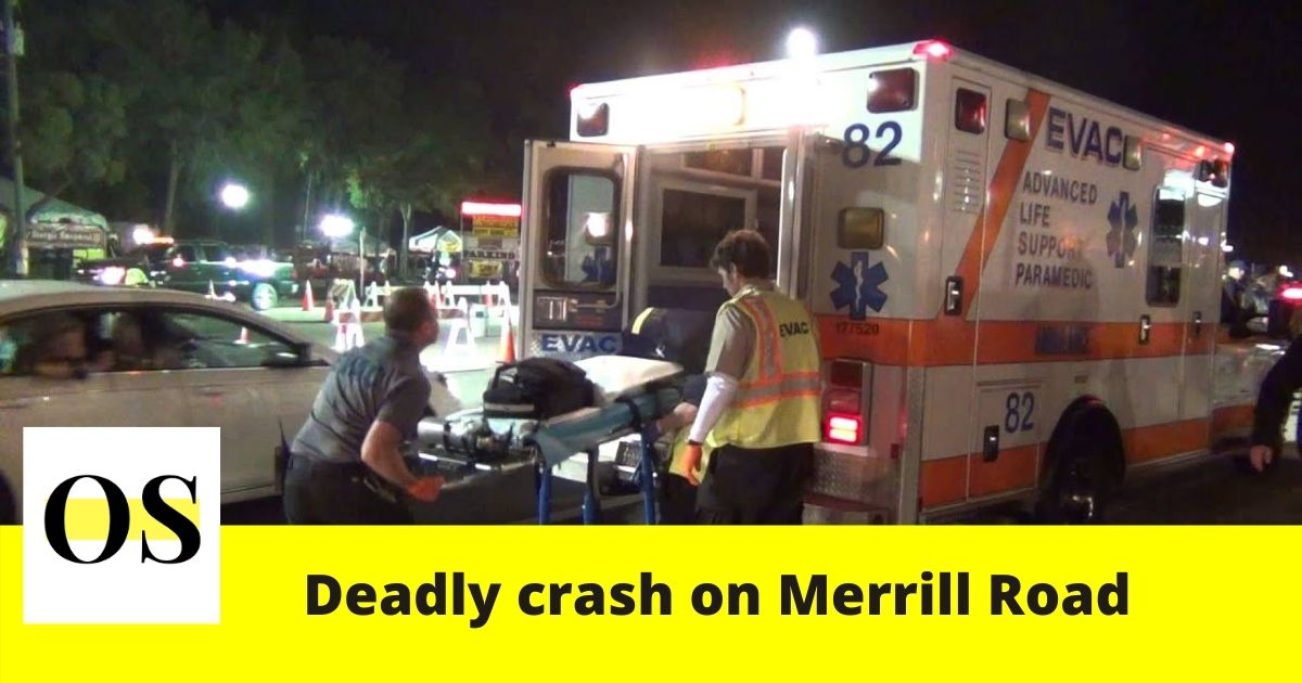 in a crash on Merrill Road, Jacksonville