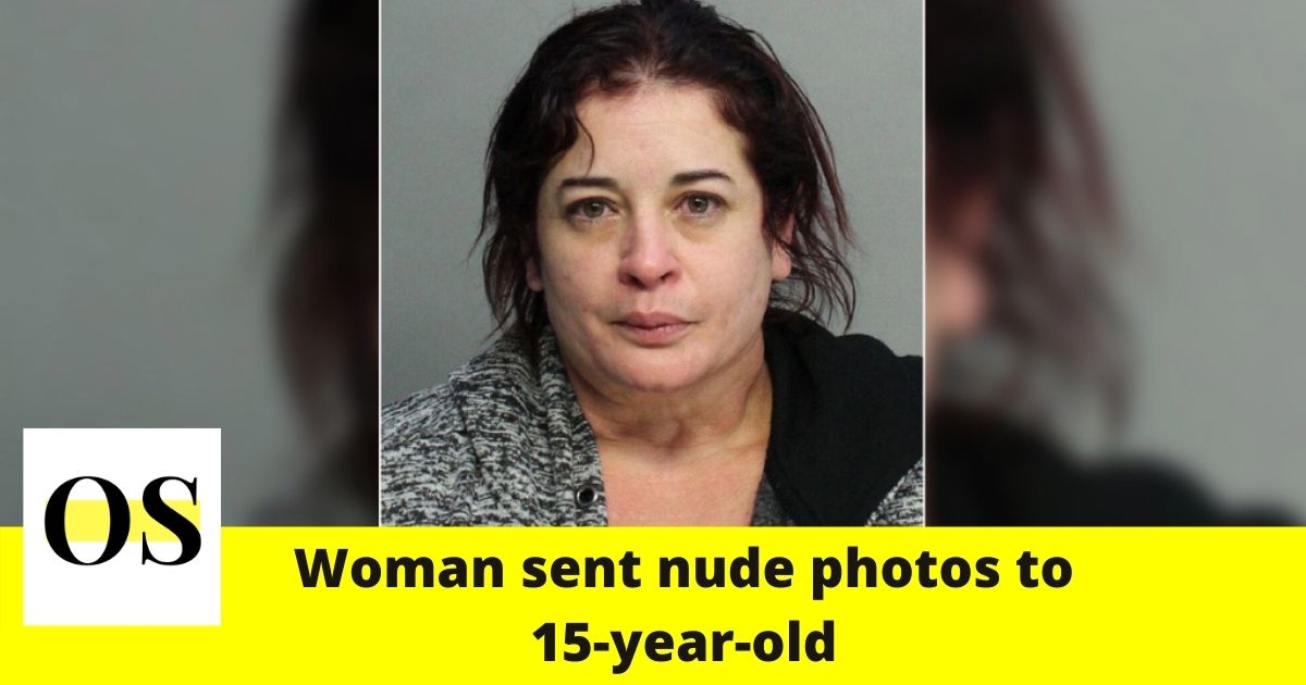 43-year-old woman sent nude photos to 15-year-old boy in Miami 1