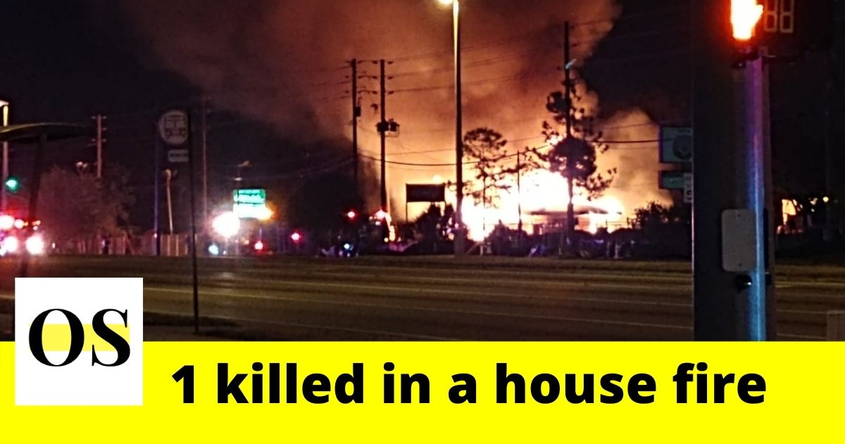 1 killed in a house fire in Orlando