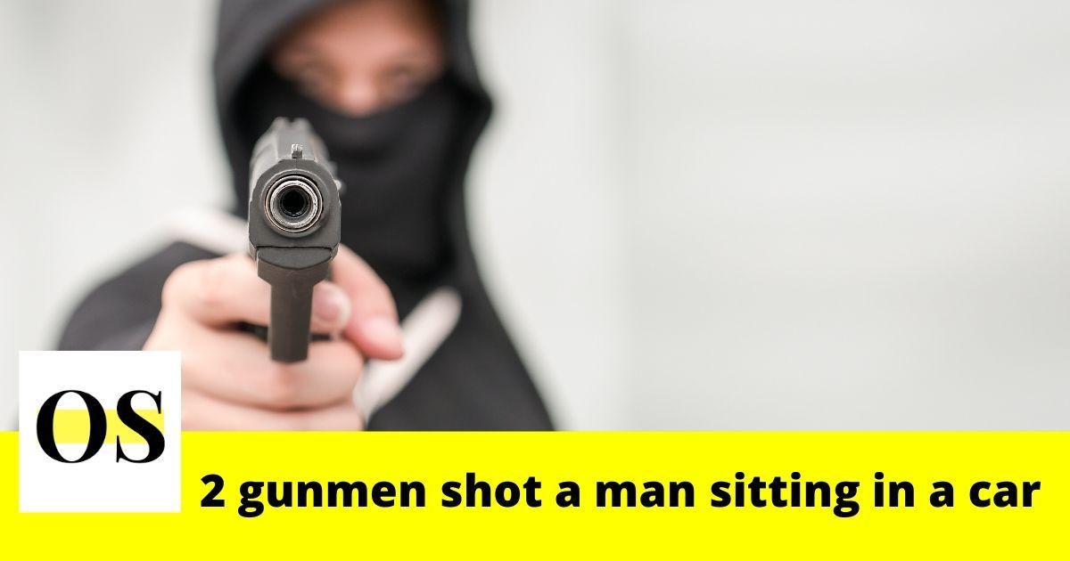 2 gunmen shot at a man sitting in a car in Jacksonville 3