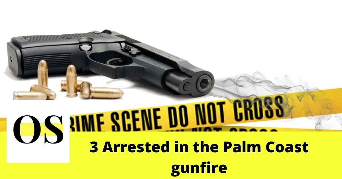 3 men landed in jail for shooting up a house in Palm coast 2