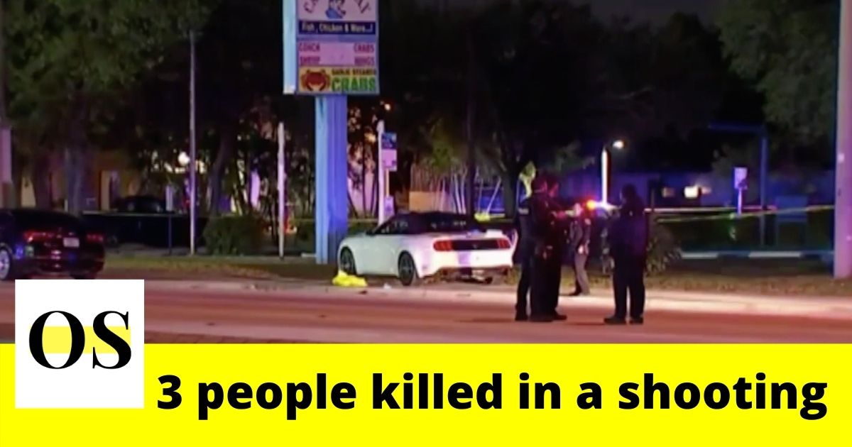 3 people killed in a shooting on Monday night in Miramar 11