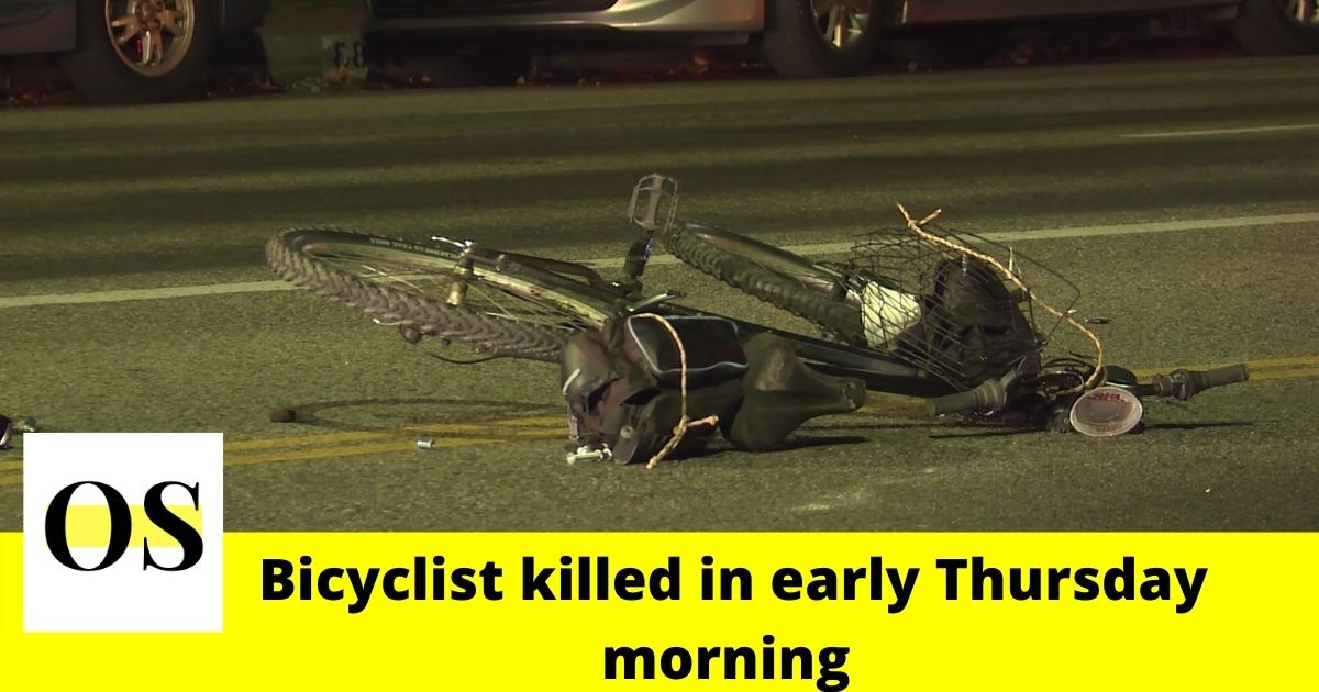 Bicyclist struck and killed early Thursday morning in Winter Garden 1