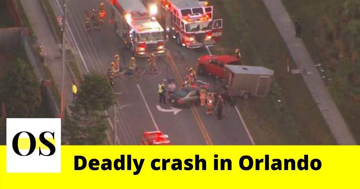 fatal crash on Monday morning in Orlando