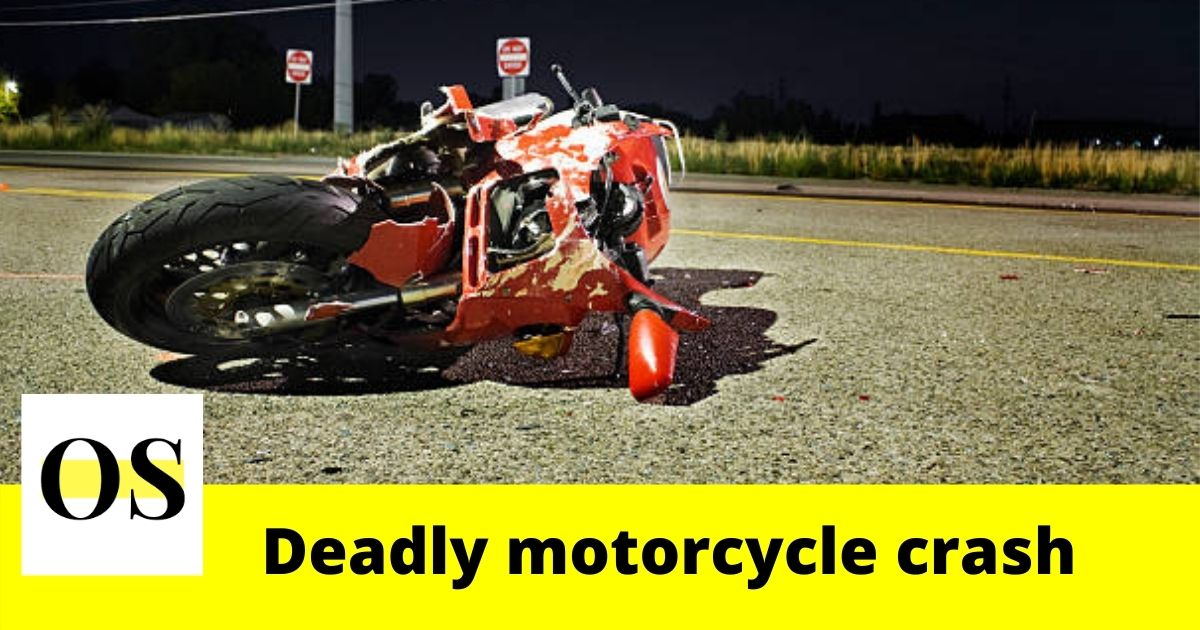 hospitalized in a deadly motorcycle crash in Jacksonville