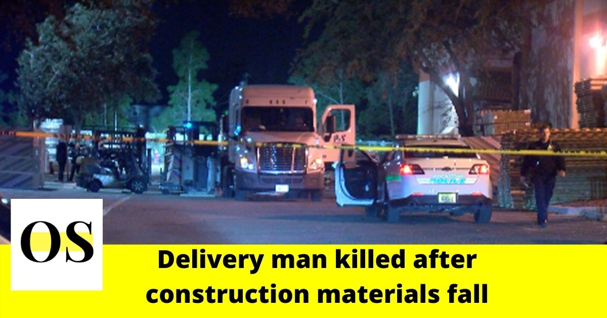 Delivery man killed after construction materials fall in St. Petersburg 5