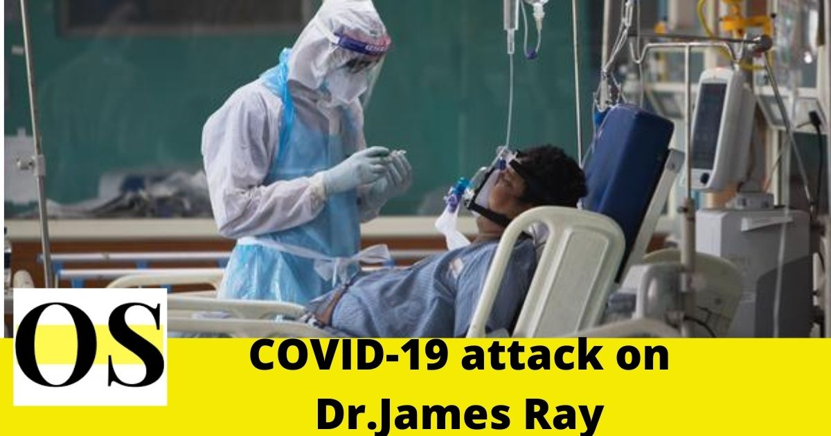 """""""Dr. James Ray suffering from COVID-19"""" 2"""