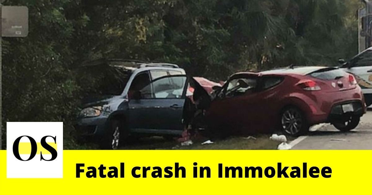 2 injured in a three-car crash in Immokalee 1