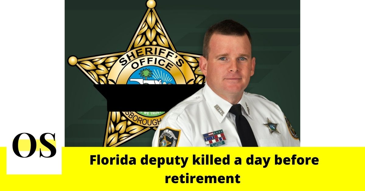 "54-year-old Florida deputy was murdered ""a day before retirement"" in Tampa 2"