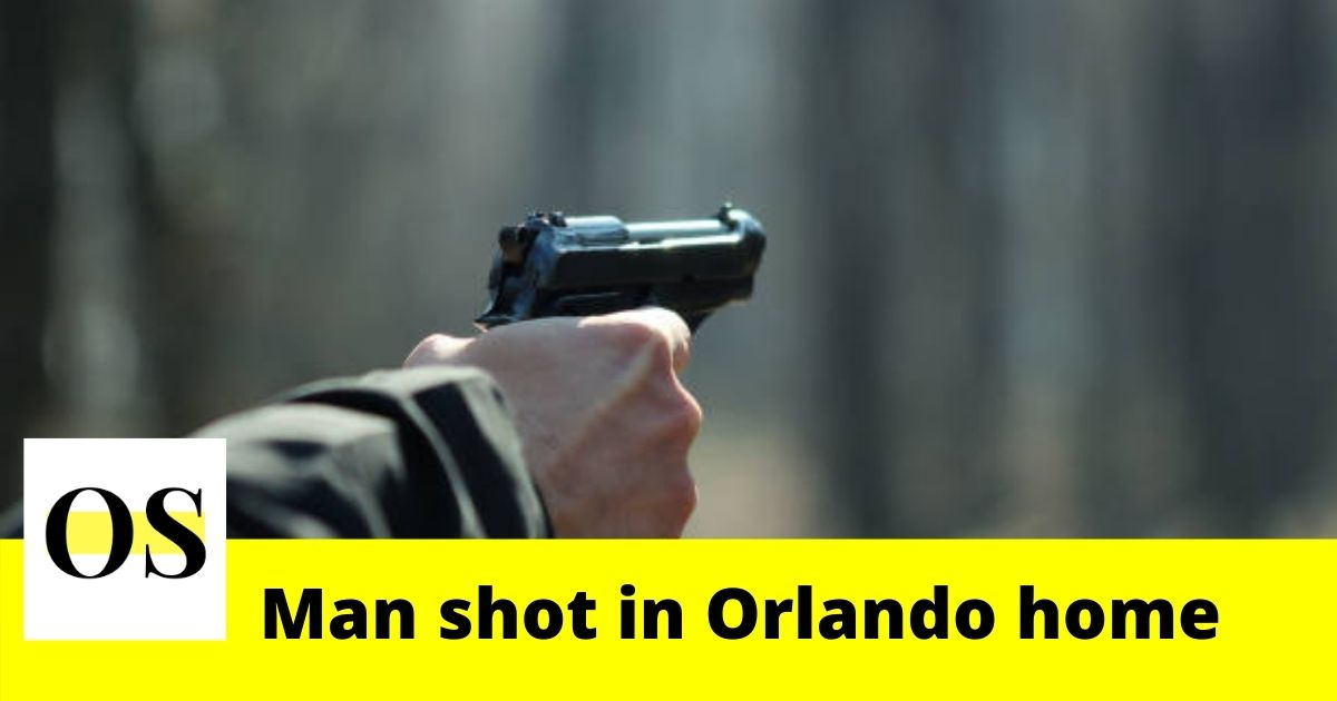 Man shot in his arm while sitting in home in Orlando 3