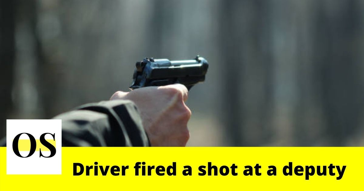Driver fired a shot at a Broward Sheriff's Office