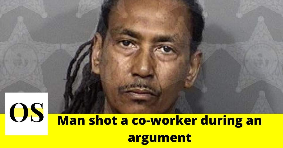 Man shot a co-worker during an argument in Palm Bay 1