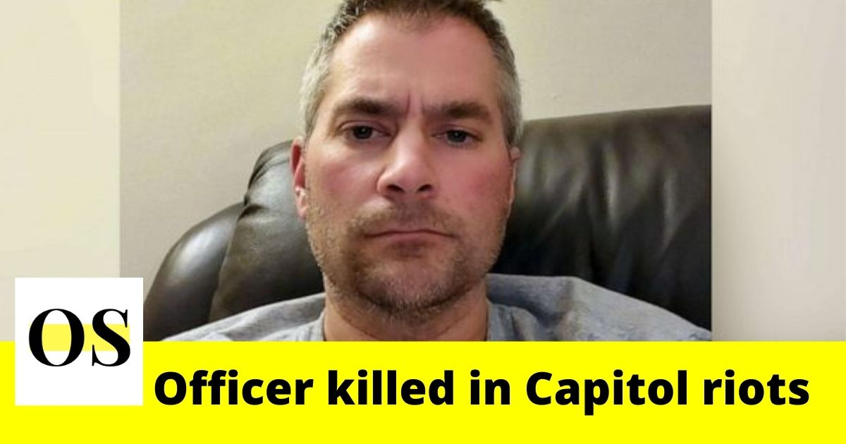 """He passed away a hero"": 42-year-old hardworking officer killed in Capitol riots 2"