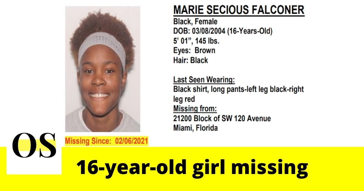 16-year-old girl west missing from Miami 2