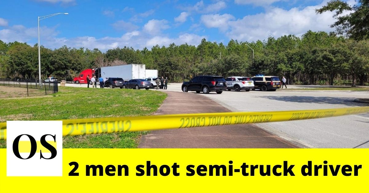 2 men shot semi-truck driver in St. Augustine 1